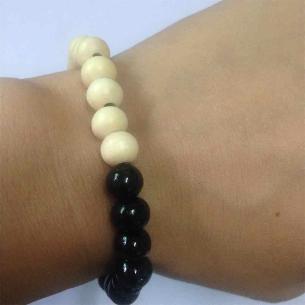 2018 nuovo stile Etnico serie di colori di legno tallone tratto braccialetto giro piccolo perline gioielli speciale all'ingrosso per le donne e uomini