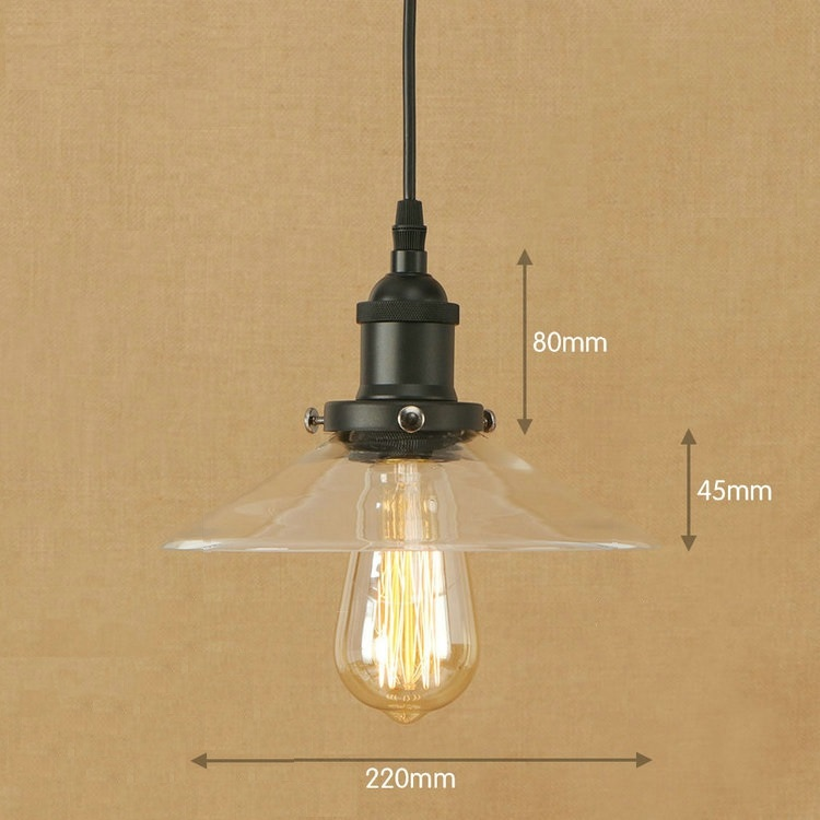 IWHD Kitchen LED Pendant Lights Glass Lampen Industrial Lighting Vintage Lamp Kitchen Light Retro Iron Suspension Luminaire iwhd loft style creative retro wheels droplight edison industrial vintage pendant light fixtures iron led hanging lamp lighting