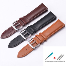22mm watch band leather straps 12-22mm high quality 20mm strap
