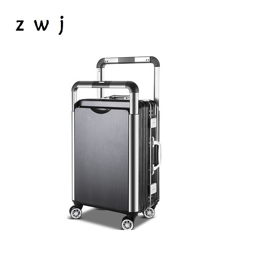 Creative Rolling Luggage Spinner Suitcase Wheels 24 inch Trolley Aluminum Frame Travel BagCreative Rolling Luggage Spinner Suitcase Wheels 24 inch Trolley Aluminum Frame Travel Bag