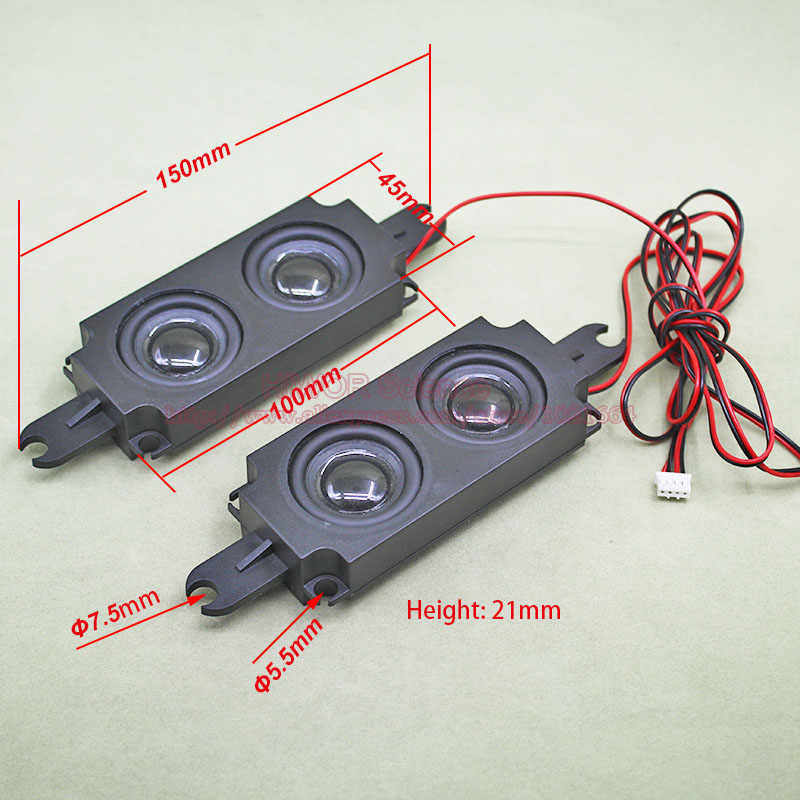 2pcs lot 8 ohm 5W 5Watt 45 150 21MM Multimedia Speaker 4 loud speakers For