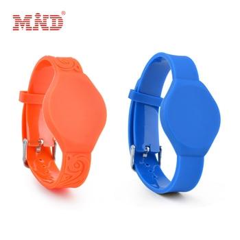 125khz RFID EM4100 TK4100 Wristband Bracelet ID Card pvc RFID Band Read Only RFID Wristband Access Control Card
