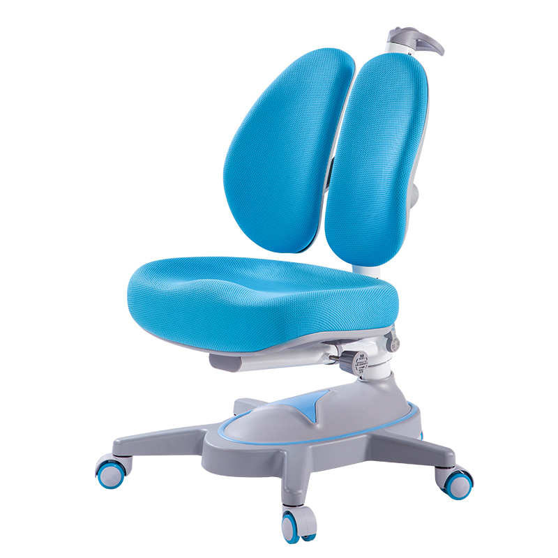 Double Back Children Seat Creative Student Lifted Study Chair Corrective Sitting Posture Writing Chair Mesh Kid Computer Stool
