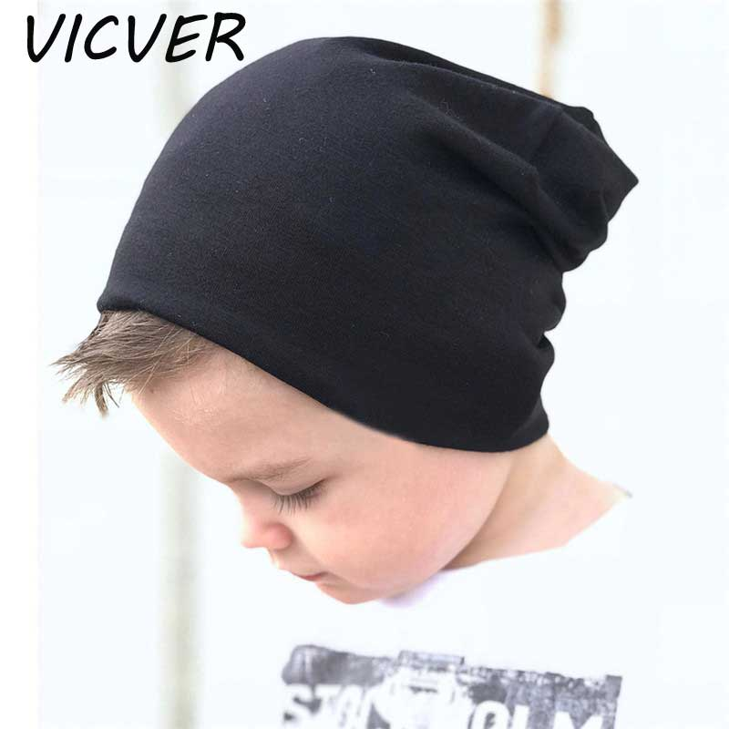 Knitted Hats For Newborn Baby Cute Solid Plain Cotton   Skullies     Beanies   Crochet Caps Girls Boy Warm Autumn Soft Hat Kids Knit Cap