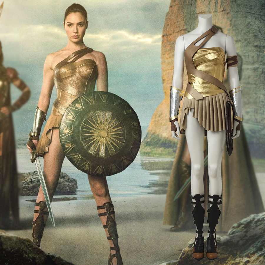 Wonder Woman Princess Diana Of Themyscira Cosplay Costume -8333