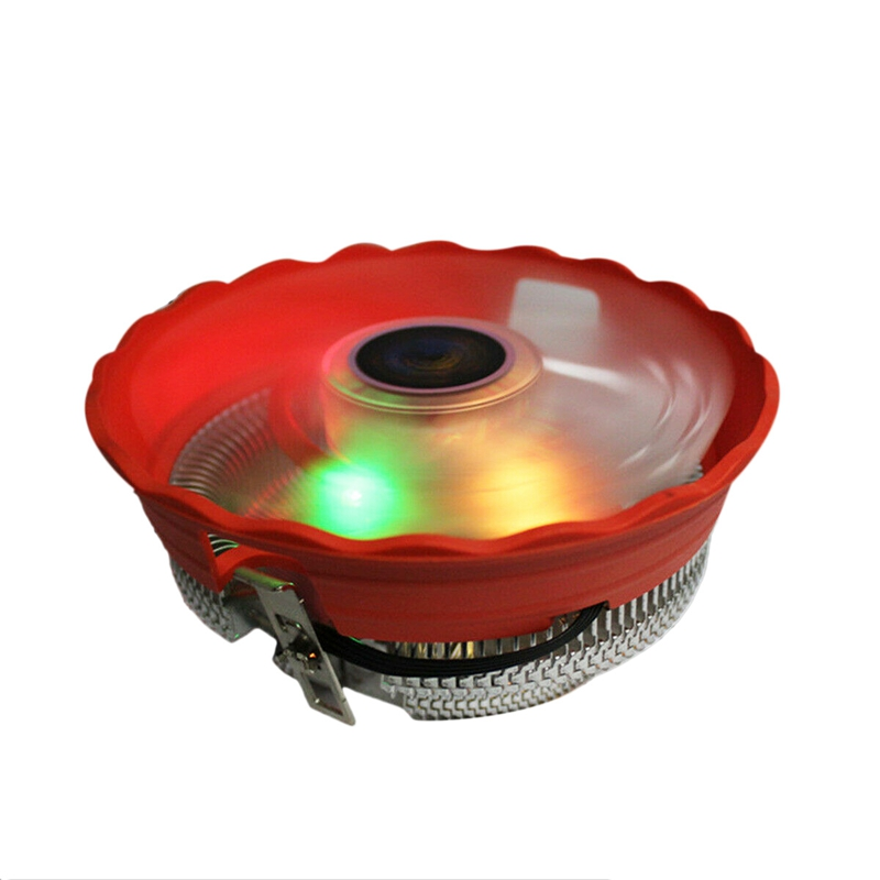 <font><b>Cpu</b></font> <font><b>Cooler</b></font> 12Cm 3Pin Led <font><b>Rgb</b></font> Cooling Fan For Lga 775/1156/1155/<font><b>1151</b></font>/1150/Amd image
