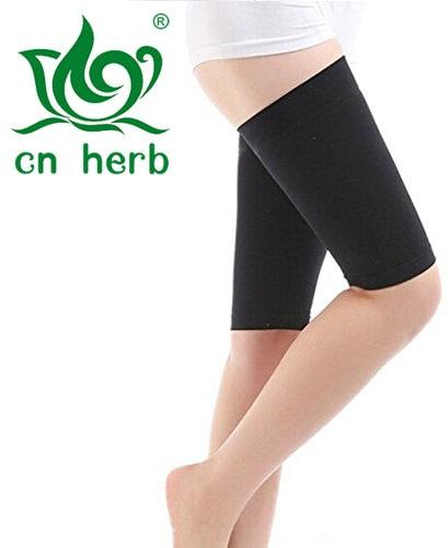 Cn Herb Women Beauty Slim Loss Weight Ultra-thin Elastic Breathable Leg Wrap Belt,thigh Slimming Compression Socks,burn Fat