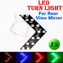 8a0d8d0c5 Flytop 1 PCS Car Styling 14 SMD LED Arrow Panel For Car Rear View Mirror  Indicator Turn Signal Light Car led Parking