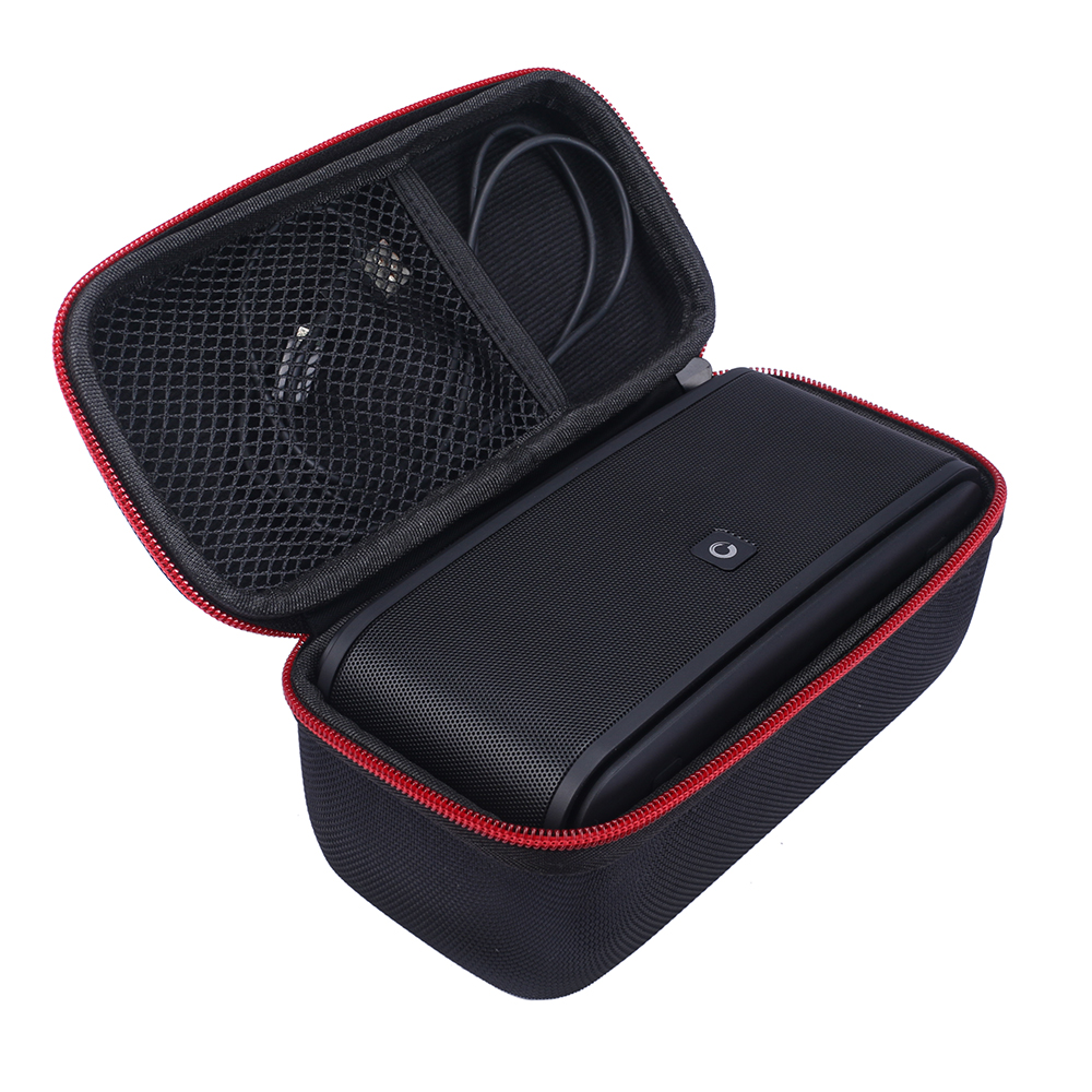 New PU Carry Travel Protective Speaker Box Cover Bag Cover Case for DOSS Touch SoundBox Wireless Bluetooth V4.0 Portable Speaker
