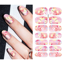Mtssii Floral Stickers for Nails Teenage Girl Sliders for Na