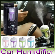 Nanum 12V cargador de los humidificadores de vapor de coche, el ambientador, el humidificador de nebulizador de alta calidad, Mute esterilización de aire de casa 1 pieza