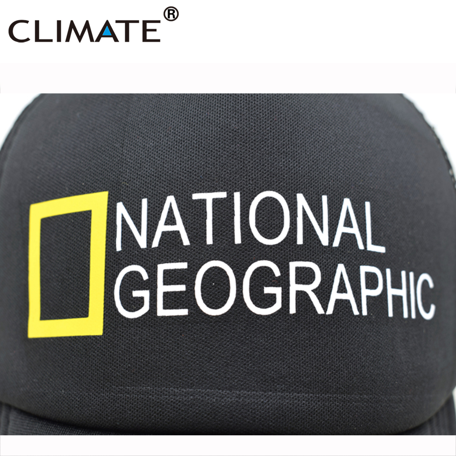 KLIMAAT Heren New Trucker Caps National Geographic Channel Hot Summer - Kledingaccessoires - Foto 2