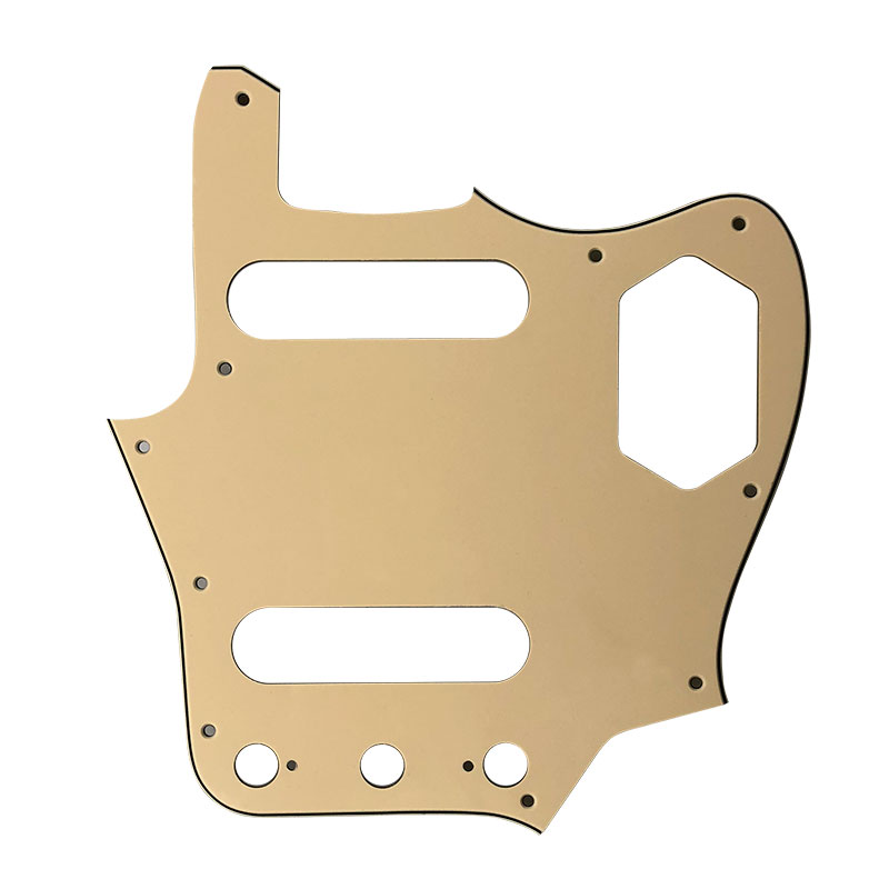 Pleroo Custom Guitar Parts Scratch Plate - For MIJ Jaguar Guitar Pickguard Scratch Plate