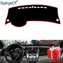 Per Honda city 2008 2009 2010 2011-2014 cruscotto tappetino pad di Protezione Ombra Cuscino Pad interni sticker car styling accessori