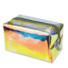 maquillajes para mujer cosmetic for bag make up pochette holographic neon purse sac cosmetique clear pouch organizer toilettas