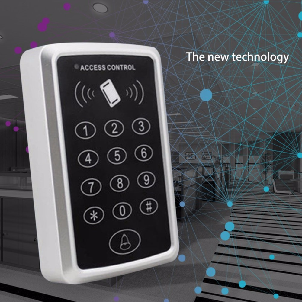 M203 RFID Proximity Card Access Control System Door Opener With Keypad 10pcs Key Tag For Home Apartment Factory High Security metal rfid em card reader ip68 waterproof metal standalone door lock access control system with keypad 2000 card users capacity