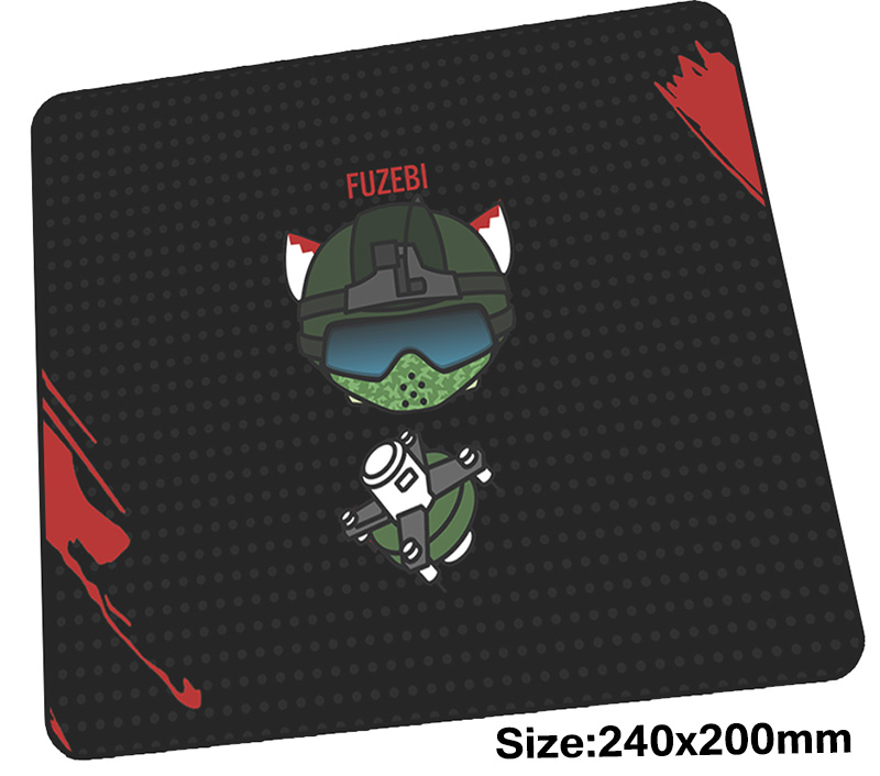 Rainbow Six Siege mouse pad gamer 240x200mm notbook mouse mat Boy Gift gaming mousepad New arrival pad mouse PC desk padmouse
