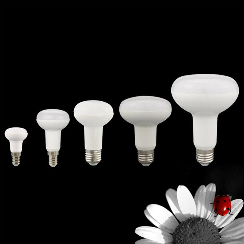 R39 R50 R63 R80 12LEDs Lamp 3w 5w 9w E14 E27 85-265V Led Bulbs Warm Cold White Spotlight Ball Light Umbrella Bulb For Bedroom