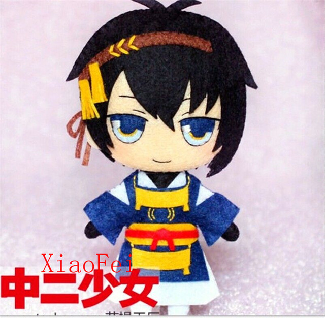 Меч Танец Touken Ranbu Mikazuki Munechika Косплей DIY игрушки Куклы материал