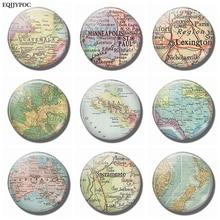 New Zealand  Guatemala Minneapolis Lexington Europe Costa Rica Texas Australia Sacramento Fridge Magnets Magnetic Stickers Decor costa rica