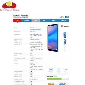 "Image 5 - 10 adet/grup 5.84 ""Huawei P20 Lite lcd ekran dokunmatik ekranlı sayısallaştırıcı grup Nova 3E lcd ekran Komple ANE LX1"