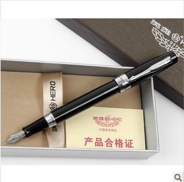 Hero fountain pen 7008 fountain pen calligraphy fountain pen  FREE shipping hero 3168 metal fountain pen