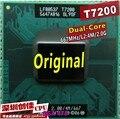 El envío libre para intel cpu core 2 duo t7200 cpu del ordenador portátil 4 m socket 479 caché/2.0 ghz/667/portátil de doble núcleo de procesador de apoyo 945