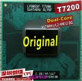 Free Shipping for intel CPU laptop Core 2 Duo T7200 CPU 4M Socket 479 Cache/2.0GHz/667/Dual-Core Laptop processor support 945