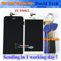 High Quality Touch Screen + LCD Display Digitizer Assembly For Asus Zenfone Max ZC550KL 5.5 inch Cellphone Black White 1280*720