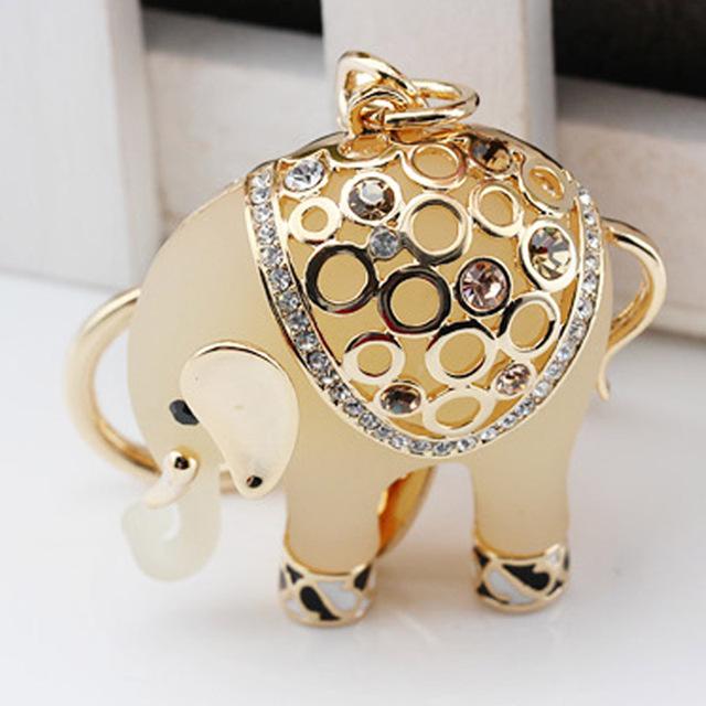 Nueva magia de la amistad llavero para mujer regalo de la joyería animal llavero llavero del elefante para el coche llaveros bolsa regalo de la joyería