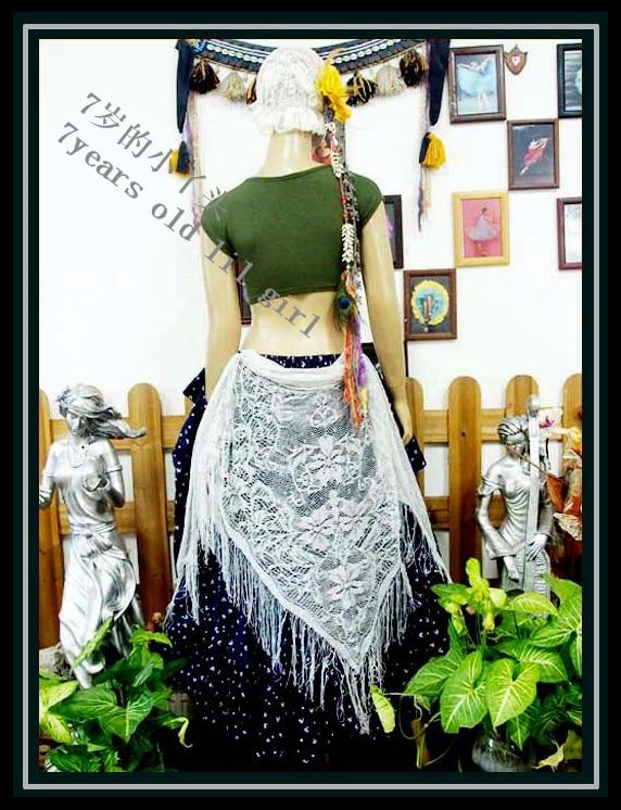 Belly Dance Hip Scarf GYPSY Scarf Tribal Belly Dance Scarf Triangle Hip Scarf Weap Belt HS891-899