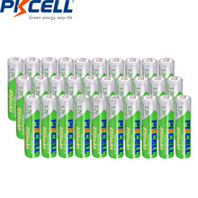 PKCELL – piles rechargeables AAA 850MAH, 30 pièces, 1.2V NIMH AAA, précharge NI-MH LSD aaa, pour jouets télécommandés