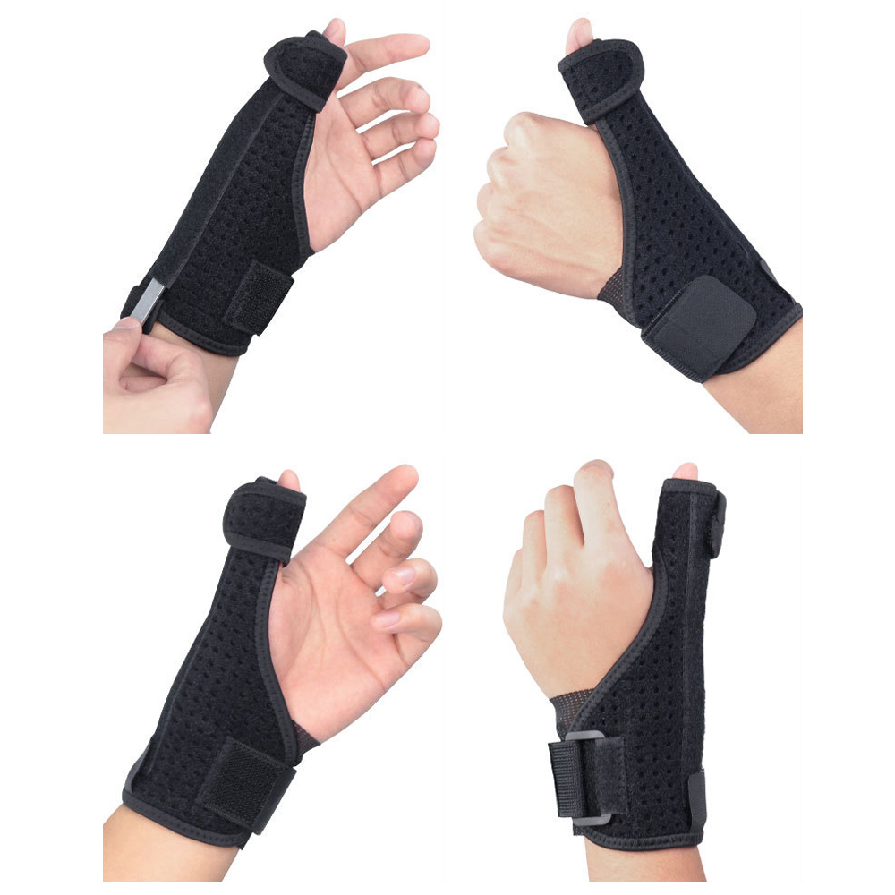 Bracers Wrist Sprain Thumb Steel Plate Support Hand Protector Protective Gear SPSLF0077