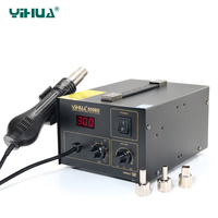 PCB SMD Temperature Controlled Hot Air Rework Station Repairing Laptop , Yihua 850BD