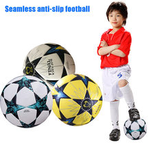 5 Size Soccer Ball PU Leather Football Children Outdoor Match Training Balls Kids Gifts B2Cshop