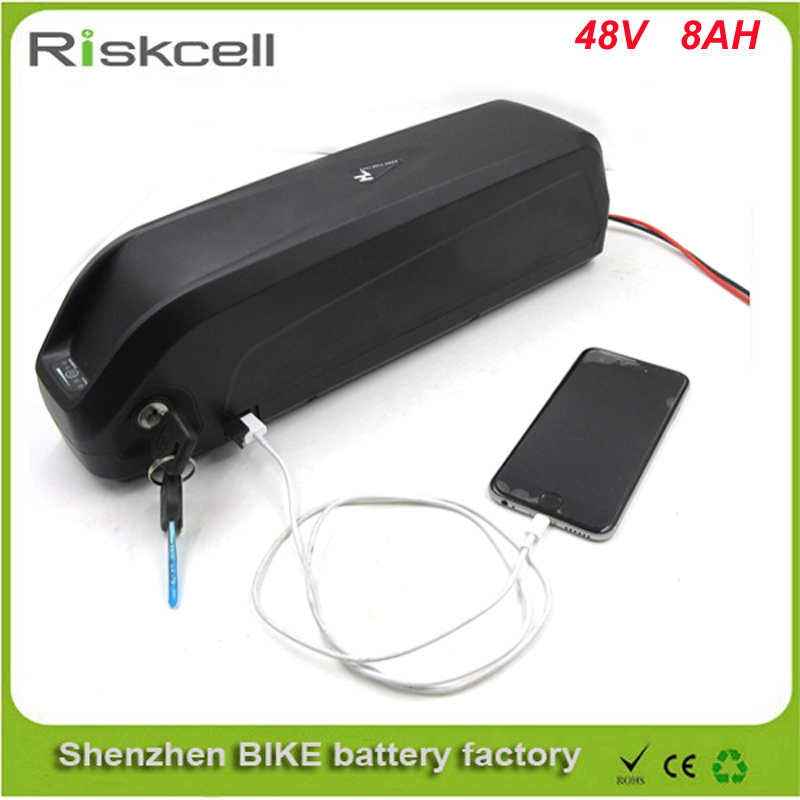 No taxes hailong e-bike battery 48v  8ah bafang bbs02 bbs01 750w lithium ion battery with charger for mountain electric bike free customs taxes and shipping li ion ebike battery pack 24v 8ah 350w electric bike kit battery hailong e bike with charger