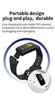 Fitness Tracker Wristband Heart Rate Monitor Smart Bracelet F1 Smartbracelet Blood Pressure With Pedometer Bracelet