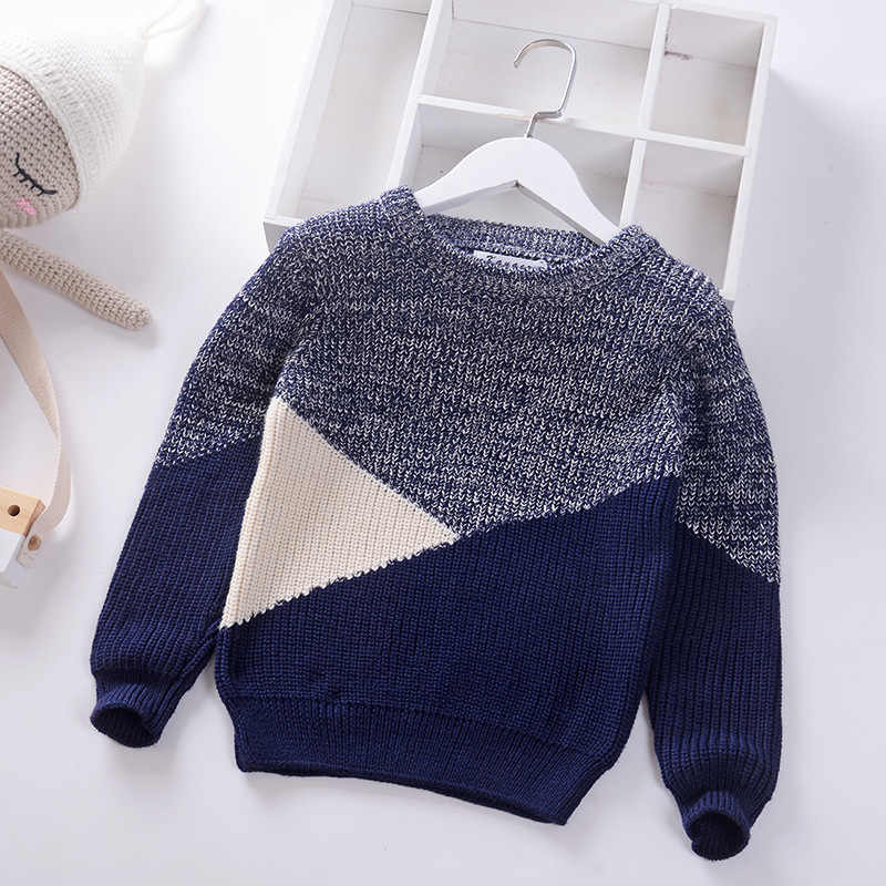 thick boys sweaters big kids children's cotton pullover winter autumn clothing tops