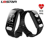 L8STAR R11 ECG PPG Smart Bracelet Heart Rate HRV Health Monitor Blood Pressure Activity Tracker Sport Fitness Tracker Smart band