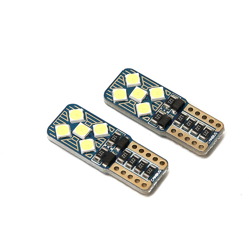 Image 3 - Car Smd T10 W5W CANBUS Auto LED light no Obc error Super bright bulb Interior of the car reading trunk luggage Light Signal lamp-in Signal Lamp from Automobiles & Motorcycles