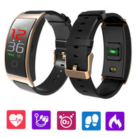 CK11C Smart Band Colorful Screen Heart Rate Monitor Bracelet Blood Pressure Fitness Tracker Smartband Sport Watch Wristband