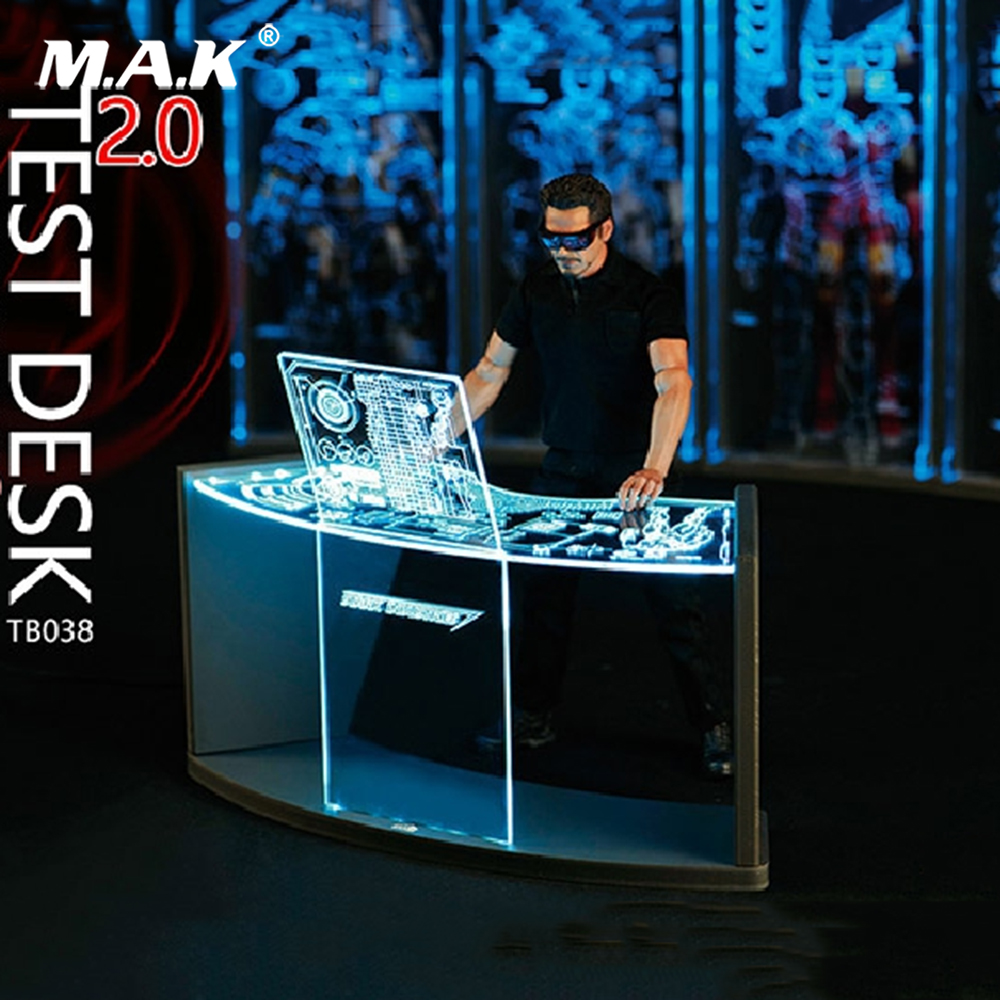 TOYS-BOX 1//6 WorkShop Scene Test Desk 2.0 Fit for Iron Man Action Fgiure Model