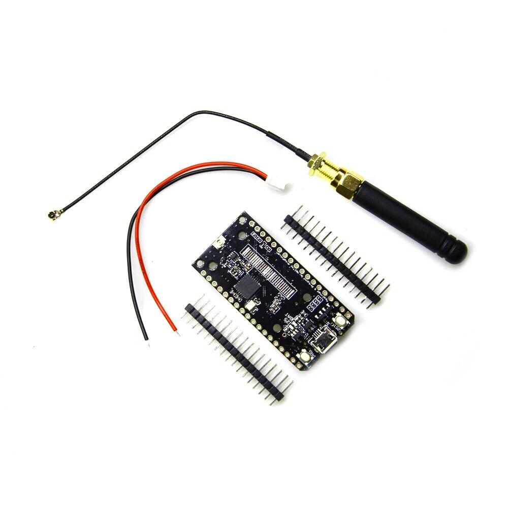 TTGO LoRa SX1276 ESP32 868/915 MHz Bluetooth WI-FI Lora Internet Antenne Development Board