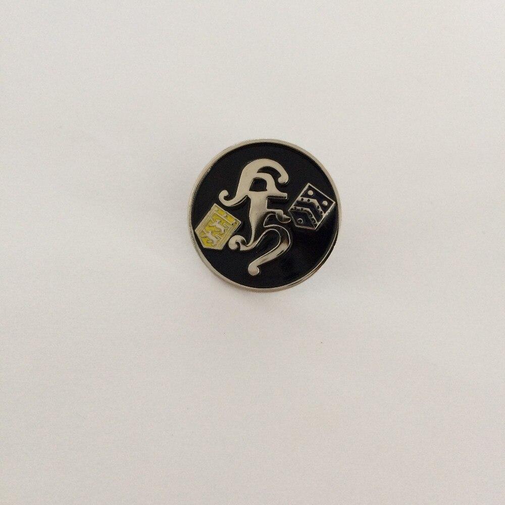 Dostosowane logo w kolorze złotym lub srebrnym poszycia Sport klapy pin odznaka z przypinki w miękka emalia w Przypinki i odznaki od Dom i ogród na  Grupa 1