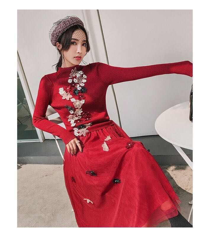 High quality New Fashion Women 2019 Spring Dress Luxury Brand European Design  party style dress   WD01164