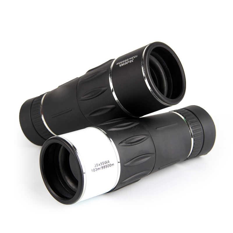 Télescope HD monoculaire zoom 35X95 103/98500 m télescope pour la chasse voyage oiseau observation Concert HT38-0009