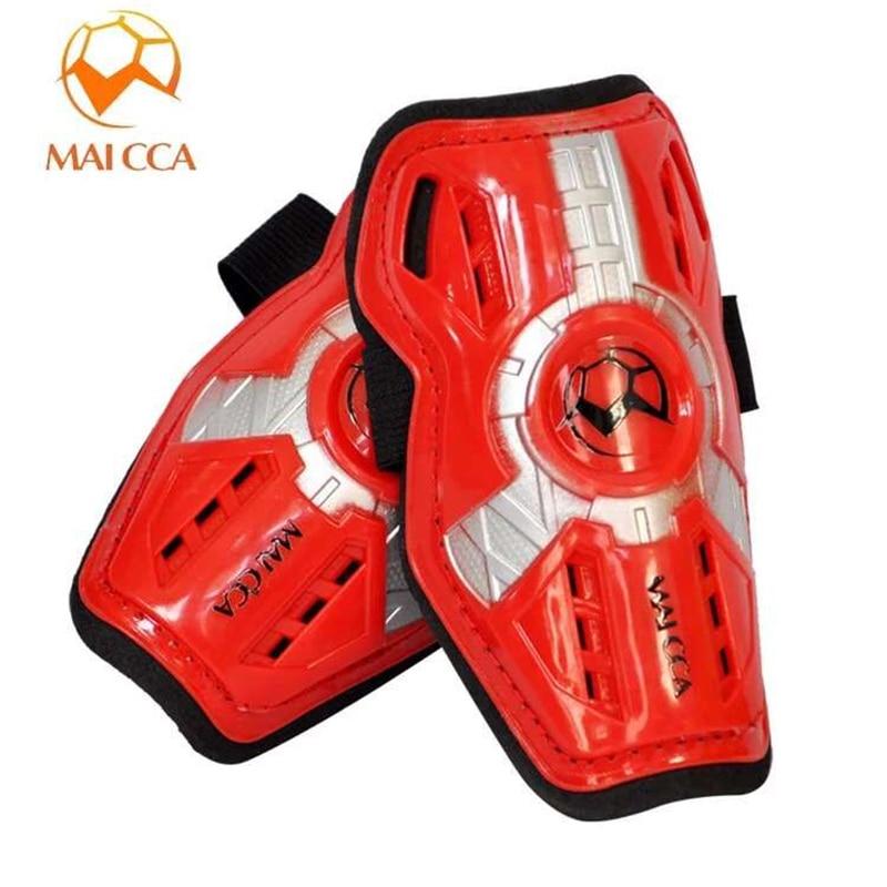 MAICCA Footbal Shin Guard děti profesionální holení podložky děti světlo chránič nohy Spil měkké sportovní stráž fotbalové holeň stráže
