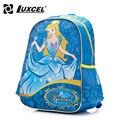 Luxcel Girl Schoolbag princess cartoon backpack printing bag for children escolar mochila kid sack