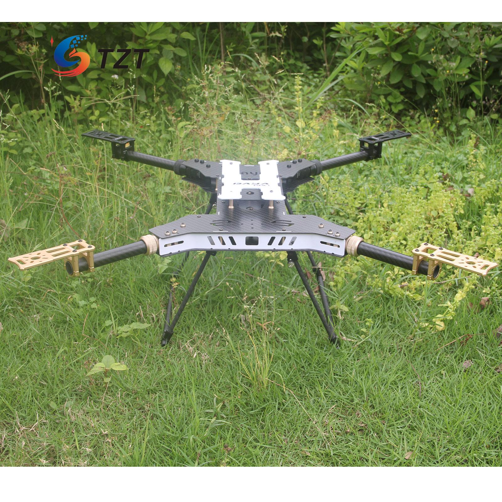 UAV H4 680 Daya Folding 4-Axis Carbon Fiber Quadcopter Frame w/Landing Gear for FPV atg tt x4 12 reptile 4 axis glass carbon folding frame kit with landing gear black