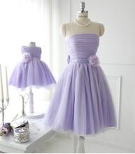 Child wedding infant flower girl dress costume skirt princess dress performance wear family fashion clothes for